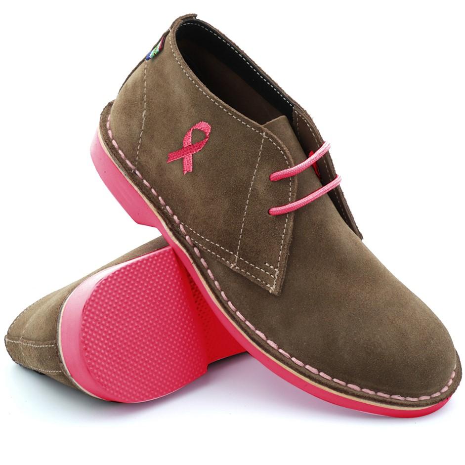 Veldskoen Shoe Breast Cancer Awareness